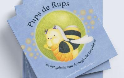 Pups de Rups en het geheim van de magische toverboon